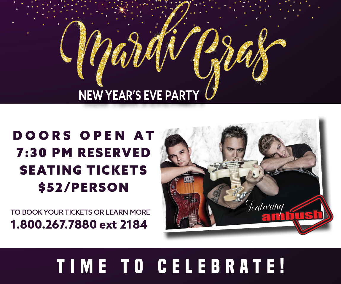 Mardi Gras New Years Party