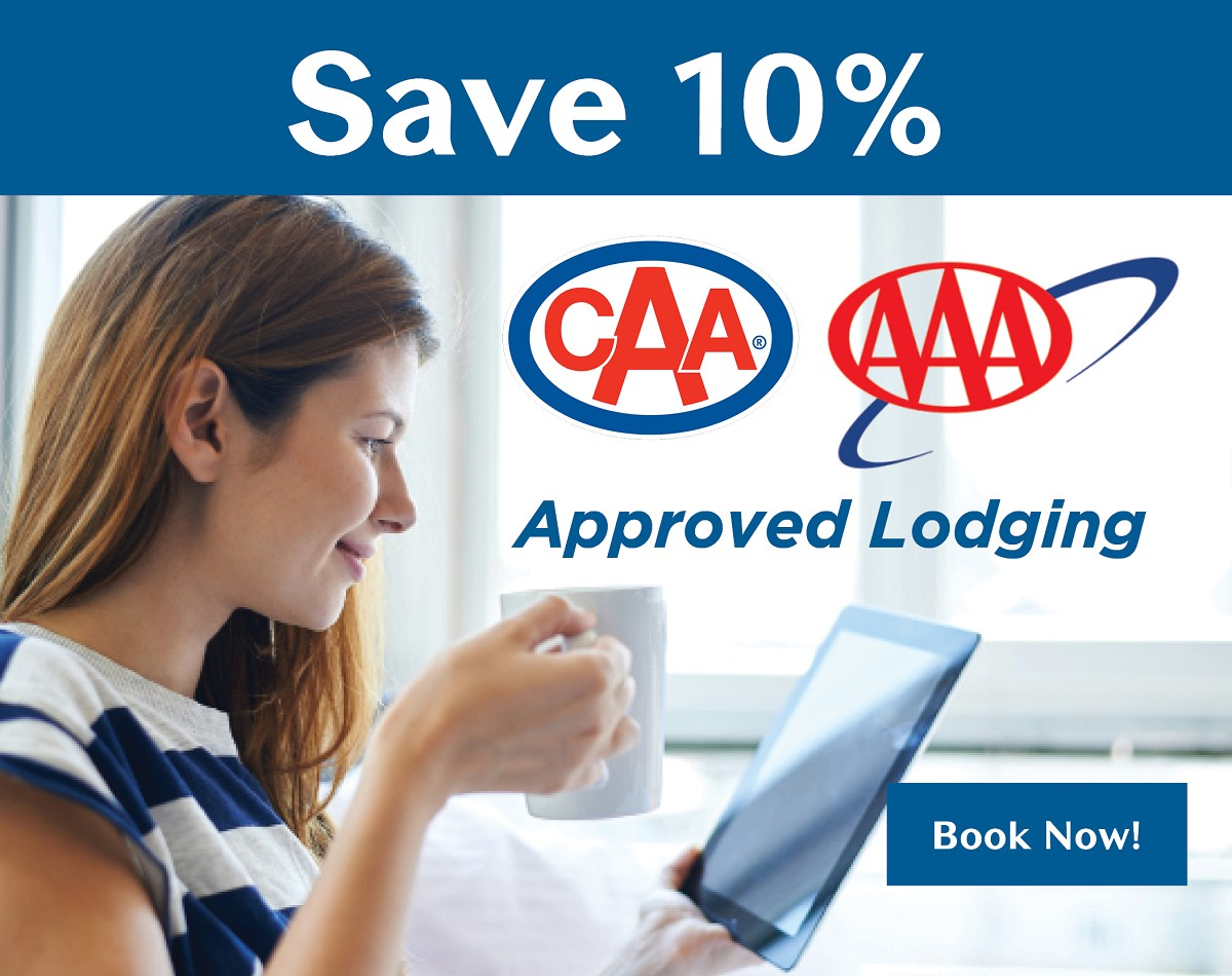 Save 10% with CAA/AAA Membership