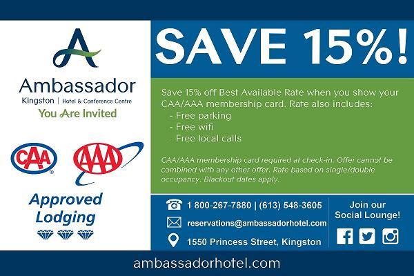 Ambassador Hotel CAA/AAA